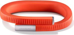 Jawbone UP24 Bluetooth Fitness Tracking Bracelet - Size Small in Persimmon