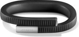 Jawbone UP24 Bluetooth Fitness Tracking Bracelet - Size Large in Onyx