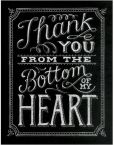 Product Image. Title: Thank You from the Bottom of My Heart Boxed Note Cards Set of 12