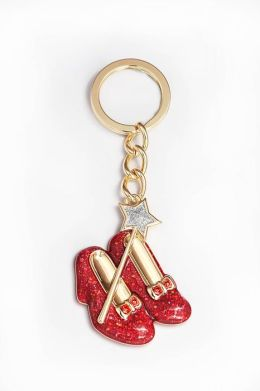 Wizard of Oz Ruby Slippers Keychain