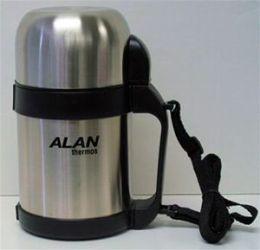 Alan Industry 12FBSS 12 Oz Stainless Steel Food Bottle - Case of 6