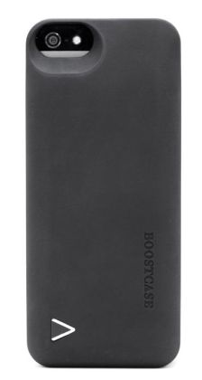 Boostcase Hybrid Snap-On Case & Detachable Extended Battery for iPhone 5 - Black