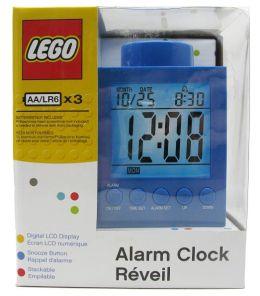 LEGO Alarm Clock 1x1 - Blue