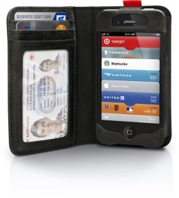 BookBook Case for iPhone 4/4S - Classic Black
