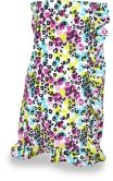 Product Image. Title: Beach Leopard Spa Wrap: Size XS/S