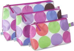 Studio Dot 3 Piece Cosmetic Bag Set