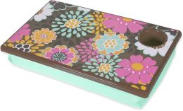 Mocha Flower Lap Desk