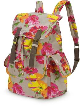 Pretty Posies Slouch Backpack