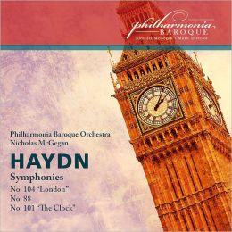 Haydn: Symphonies Nos. 88, 101 & 104