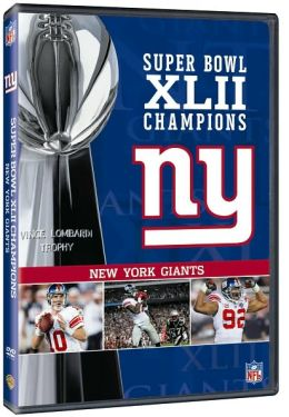 The New York Giants - NFL Super Bowl XLII Champions