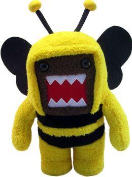 Domo 6.5 Inch Plush, Bumble Bee