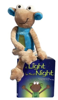 A Light in the Night (with blue plush)