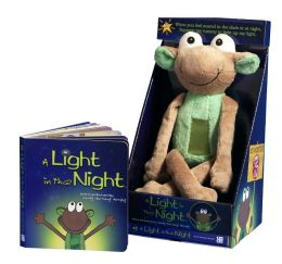 A Light in the Night (with green plush)