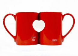 I Love You Ditto Perfect Pair Mug Set, 16 oz.