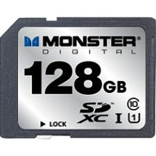 Monster Cable FSD-0128 128 GB Secure Digital Extended Capacity (SDXC) - 1 Card