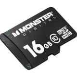 Monster Cable USD-0016-101 16 GB MicroSD High Capacity (microSDHC) - 1 Card