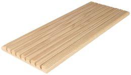 Hanging Oak Ruler Holder-7-1/4