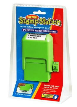 SUPER 6 STAMP STATION POSITIVE REINFORCEMENT