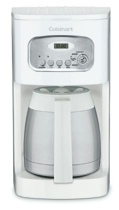 Cuisinart DCC-1150 10-Cup Thermal Programmable Coffeemaker - White