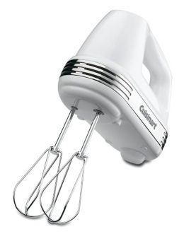 Cuisinart HM-50 Power Advantage 5-Speed Hand Mixer - White