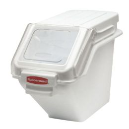Rubbermaid Commercial Products RCP 9G57 WHI Safety Storage Bin 100 Cup Whi