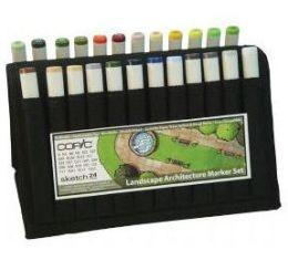 Alvin SLAWAL Sketch Landscap Architecture Wallet - 24 Piece