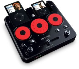 Universal iPod DJ Mixer made for iPod in Black