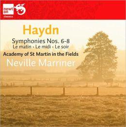Haydn: Symphonies Nos. 6-8: Le Matin; Le midi; Le Soir