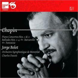 Chopin: Piano Concertos Nos. 1 & 2; Ballades Nos. 1-4; Barcarolle; Fantaisie