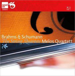 Brahms & Schumann: String Quartets