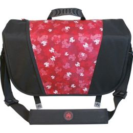 SUMO Messenger Bag - Black / Red