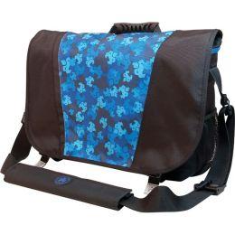 SUMO Messenger Bag - Black / Blue