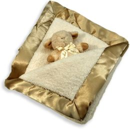 Cloud B Double Sherpa Blanket & Baby Rattle Gift Set