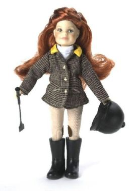 Paradise Horses English Rider Doll- Millicent