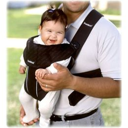 BabyBjörn Baby Carrier Original-Black, Classic