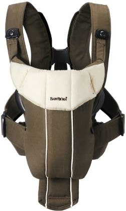 BABYBJ??RN Baby Carrier Active (Brown/Beige)