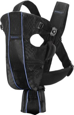 BABYBJ??RN Baby Air Carrier (Black/Mesh)