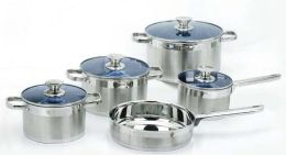 American Trading House Kp-9027 Gourmet Chef 14 Piece Stainless Steel Cookware Set