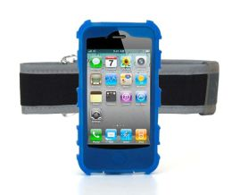 Outdoor Pack Armband for iPhone 4 in Blue
