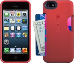 Speck SmartFlex Card Case for iPhone 5 in Pomodoro Red