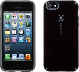 Speck CandyShell Case for iPhone 4/4S in Black and Dark Grey