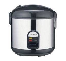 Sunpentown SC-1812S 10 Cup Rice Cooker With Stainless Steel body