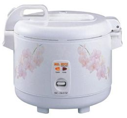 Sunpentown 10 Cups Electric Rice Cooker and Warmer - SC-168Z
