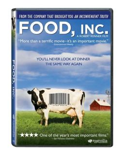 DVD cover for Food, Inc.
