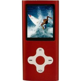 Mach Speed Eclipse T180 4 GB Red Flash Portable Media Player