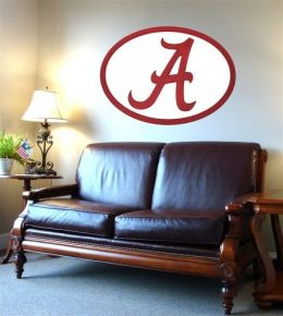 Adventure Furniture C0504-Alabama University of Alabama Logo Wall Art