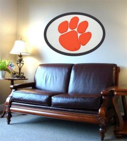 Adventure Furniture C0504-Clemson Clemson University Logo Wall Art