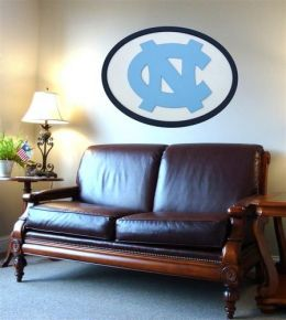 Adventure Furniture C0504-North Carolina University of North Carolina Logo Wall Art