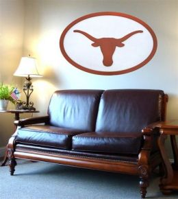 Adventure Furniture C0504-Texas University of Texas Logo Wall Art