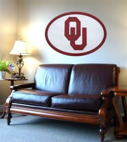 Adventure Furniture C0504-Oklahoma University of Oklahoma Wall Art